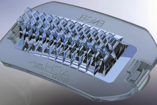Mit ihrer komplexen Struktur stellen LED-Linsen aus Silikon hohe Anforderungen an den Spritzgießprozess.