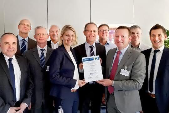 Faulhaber erhält Auszeichnung von Heidelberger Druckmaschinen