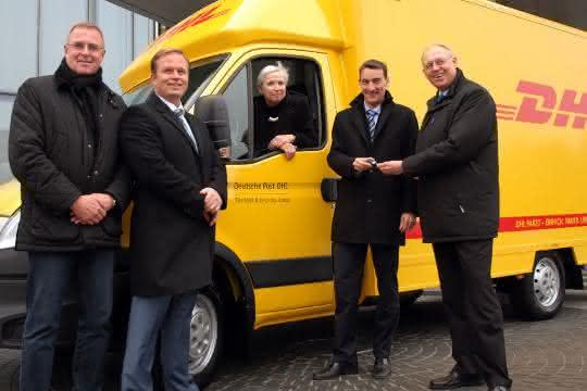 5.000ster Iveco Daily geht an die Deutsche Post DHL