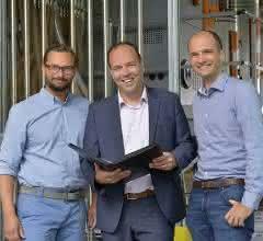 Kontinuität in der Unternehmensentwicklung und in der Zusammenarbeit: Thomas Allgaier, Markus Schinabeck und Christoph Allgaier (v.l.).