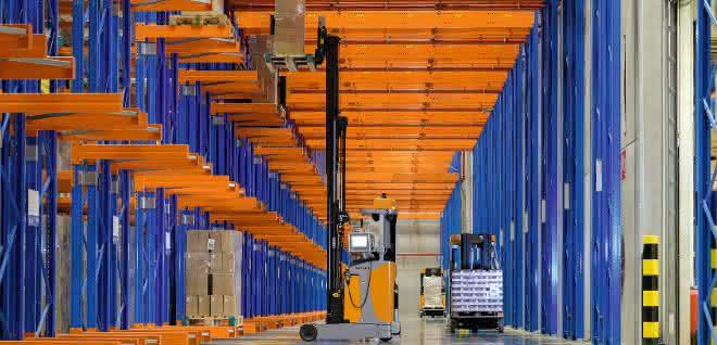Distributionszentrum von CASA
