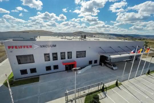 Neuer Hightech-Produktionsstandort von Pfeiffer Vacuum in Rumänien