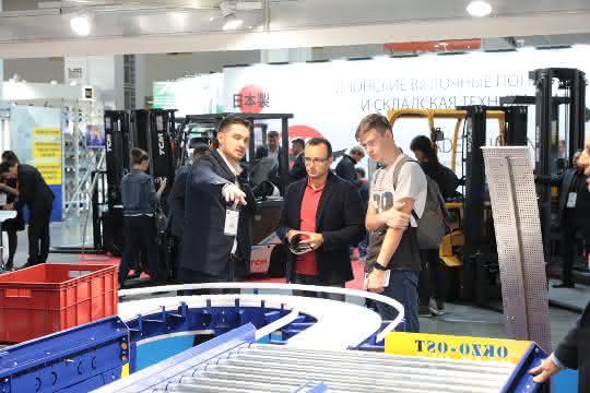 CeMAT Russia 2018 mit deutlichem Besucherplus