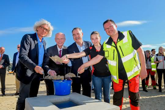 Reimer Logistics legt Grundstein für Logistik Center Hansalinie