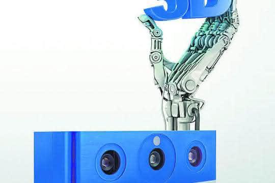 3D-Kameras verwenden CMOS-Sensoren und einen Projektor