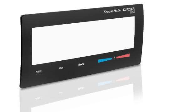 Display mit integrierter Elektronik
