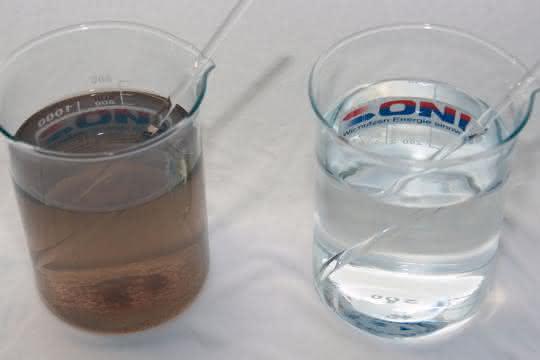 Verschmutztes Kühlwasser