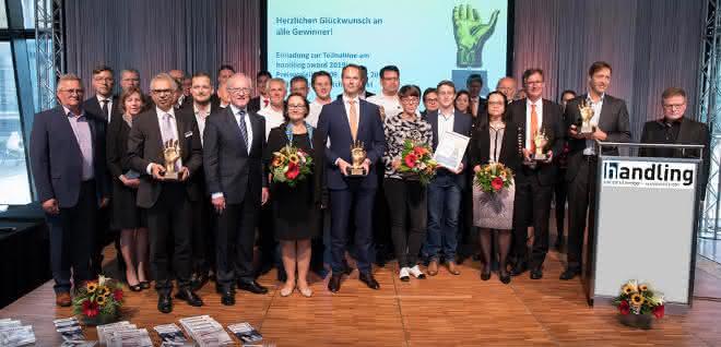 handling award 2018 Preisverleihung auf der Motek