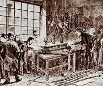 Ein neuer Maßstab entsteht: Guss der internationalen Urmeter in Paris 1874.