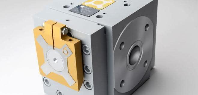 Zahnradpumpe für die Kunststoff- und Elastomerverarbeitung