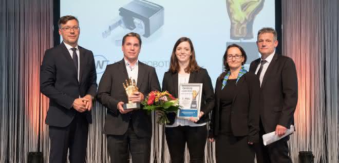 handling award Weiss Robotics