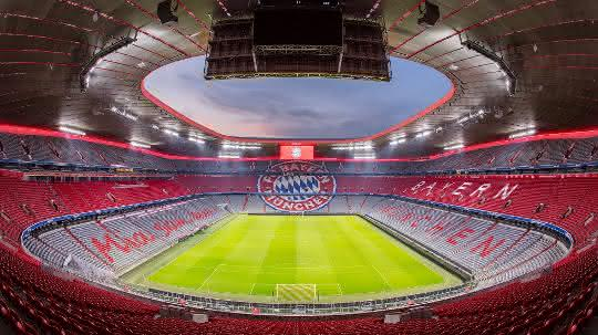 Allianz Arena München Mit Lichtlösung Von Zumtobel Scope
