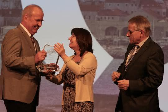Alexander Berg mit dem Europäischen Sicherheitspreis Nutzfahrzeuge ausgezeichnet