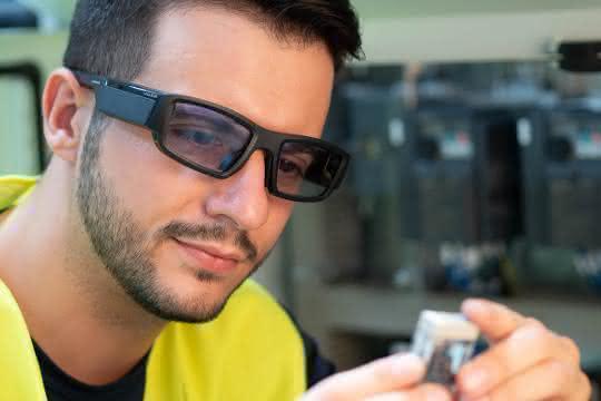 Ubimax Computing Plattform für weitere Datenbrille nutzbar