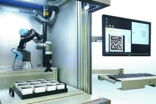Robotergestütztes Lasermarkiersystem