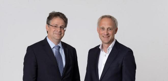 Die HPC-Geschäftsführer Dr. Felix Kasiske (links) und Jan Boverman