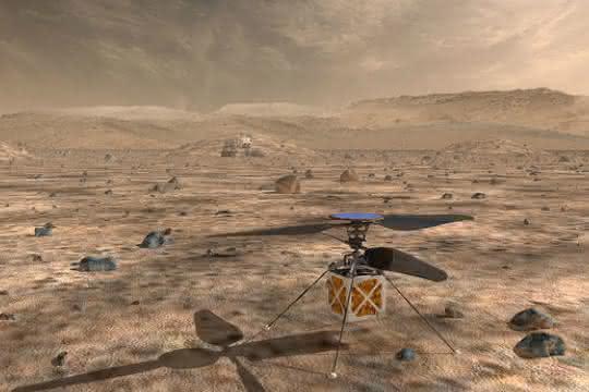 Maxon-Mars-Helikopter