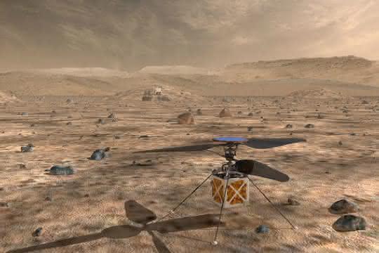 Mars-Hekikopter