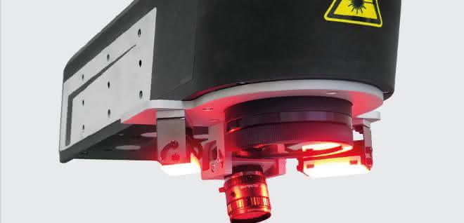 Faserlaser DFL Ventus Marker Industrial Design mit CPM extern