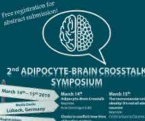 Plakat zum 2nd Adipocyte-Brain Crosstalk Symposium