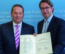 Uwe Hasselberg und Dr. Andreas Scheuer