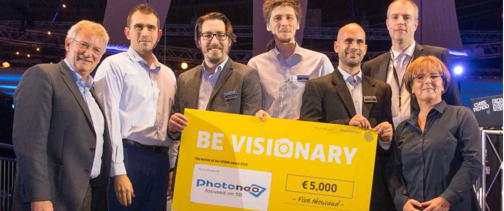 Photoneo gewinnt den Vision Award 2018