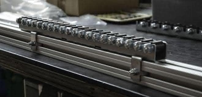Mini-Schwerlast-Röllchenschienen