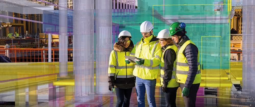 Trimble zeigt auf der BAU 2019 BIM-Lösungen für die Vernetzung von Büro und Baustelle