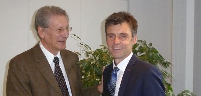Jo Pollaert (links) und Dieter Göppert wollen ihr Unternehmen auch künftig gesund wachsen lassen.