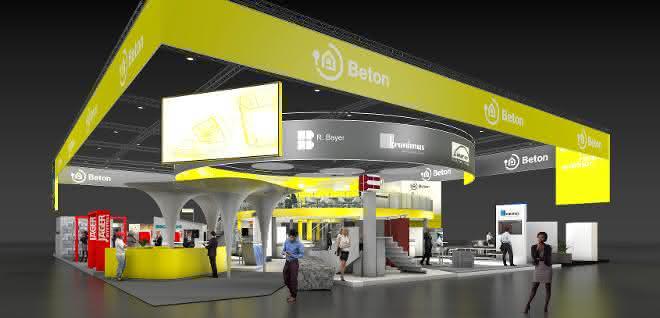 InformationsZentrum Beton zeigt Gestaltungsmöglichkeiten mit Baustoff Beton