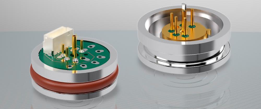 Digitalisierung in der Druckmesstechnik: Sensor misst Druck