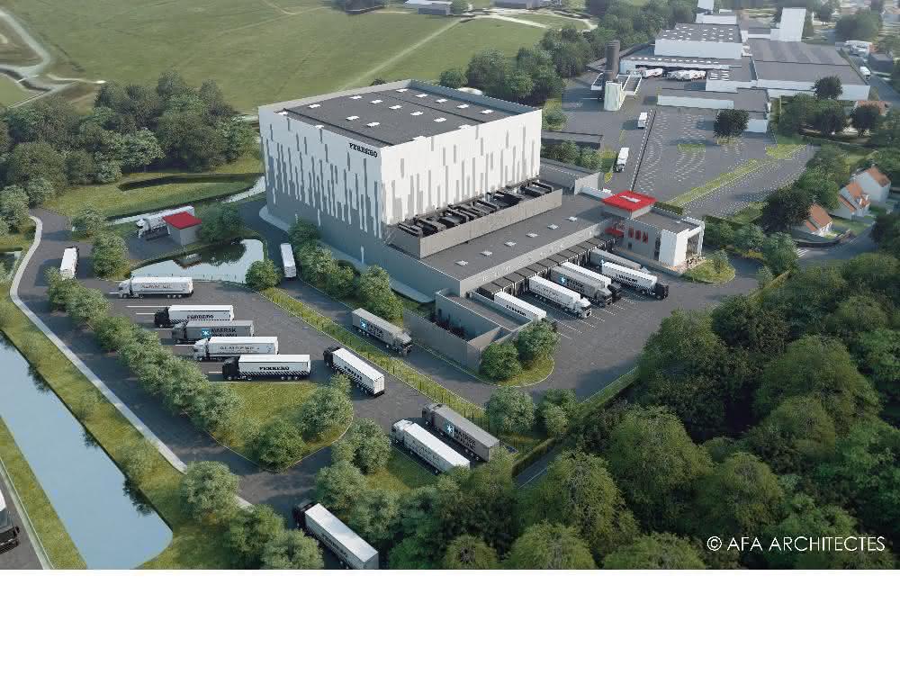 Jungheinrich baut für Ferrero automatisiertes Logistikzentrum