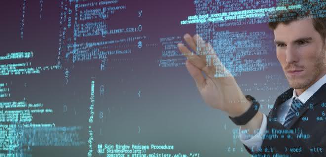 Abstrakte Darstellung: Künstliche Intelligenz, Daten, Analyse