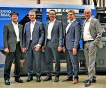 Von links: Hideki Kuroiwa, Paolo Zirondoli, Martin Fischer, Dieter Schuster, Gerd Liebig.