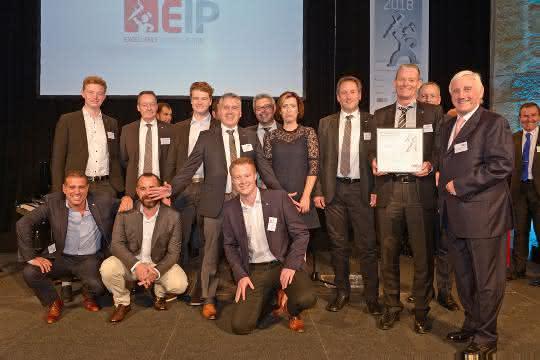"""Werkzeugbauer des Jahres in der Kategorie """"Externer Werkzeugbau über 50 Mitarbeiter"""""""
