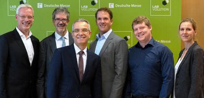 """Sprecher bei der Fachpressekonferenz im November 2018 zur """"Labvolution 2019"""""""
