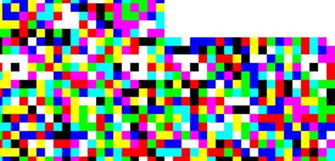 Zweidimensionaler, farbiger Barcode zur fälschungssicheren Produktkennzeichnung