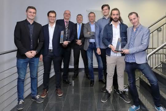 Einzigartiger Studentenpreis, zwei Gewinnerteams