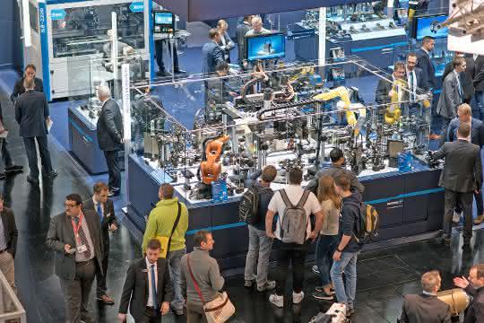 Insgesamt 65.700 Besucher kamen zur diesjährigen SPS IPC Drives nach Nürnberg.