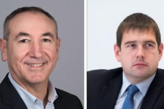 Christian Agasse, CEO PAKi Logistics GmbH und Marcus Falkenhahn, Geschäftsführer Falkenhahn AG