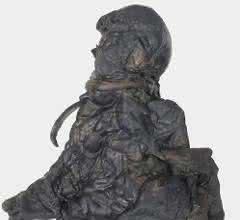 Form- und farbechter 3D-Druck der Moorleiche des Yde-Mädchens
