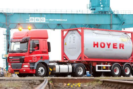 2019: Logistikdienstleister Hoyer investiert 173 Millionen Euro