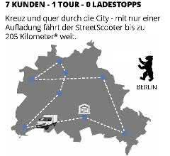 Mit nur einer Aufladung fährt der StreetScooter bis zu 205 Kilometer weit.
