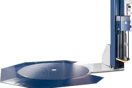 Verpackungstechnik: Kemapack präsentiert neue Palettenwickler