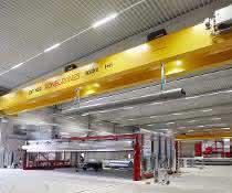 Zweiträger-Brückenkrane für neues Logistikzentrum