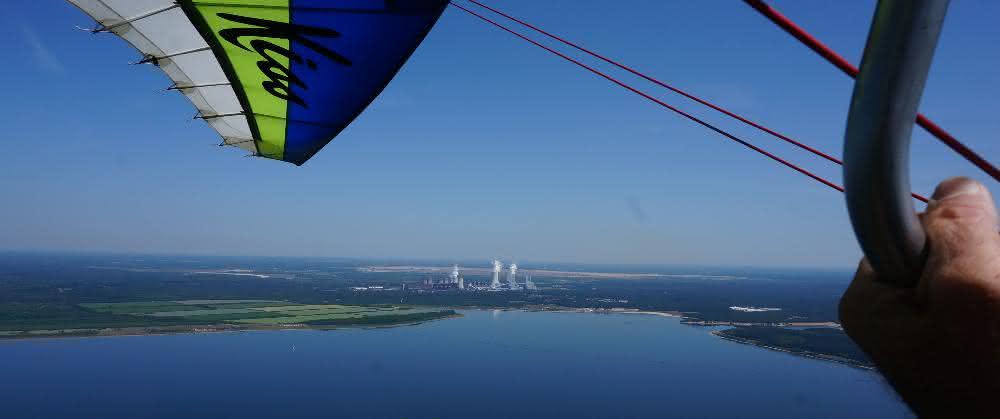 Kohlekraftwerk Boxberg in der Lausitz: In der Abluftfahne haben die Forscher in 20 Kilometern Entfernung bis zu 85 000 Partikel pro Kubikzentimeter gemessen.
