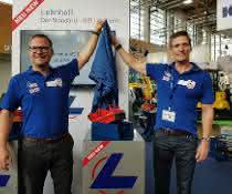 Rainer Matz (rechts) und Sebastian Denniston