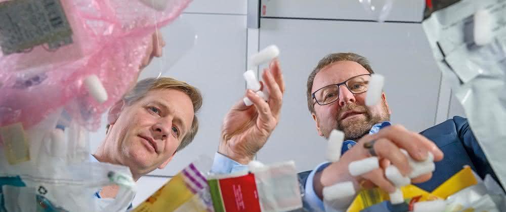 Dr. Andreas Kicherer und Dr. Stefan Gräter