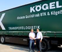 BTK Logistik setzt auf über 50 neue Kögel-Auflieger