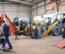 HKL bietet Equipment für das Arbeiten auf Baustellen im Winter